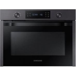 Built-In Solo Microwave, 50L with Self Steam Clean, Matt Black