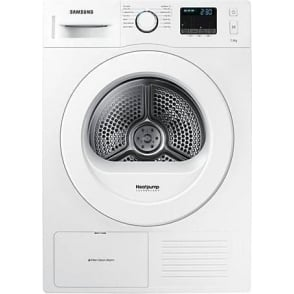 DV70F5E0HGW D200 7kg, A++ Tumble Dryer with Heat Pump, White