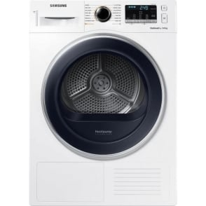 DV80M5013QW 8kg, A++ Heat Pump Tumble Dryer, White