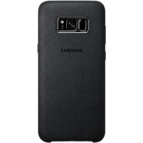 Galaxy S8 Alcantara Cover, Grey