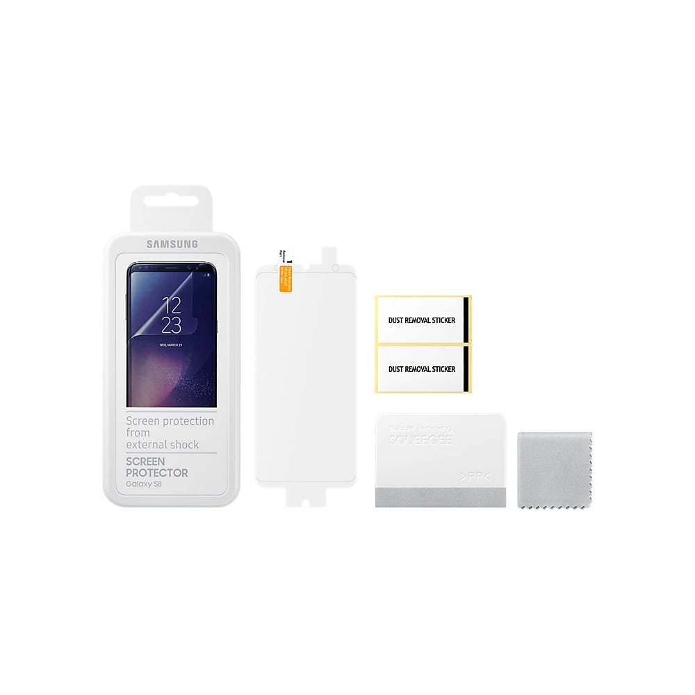 samsung galaxy s8 screen protector samsung from. Black Bedroom Furniture Sets. Home Design Ideas