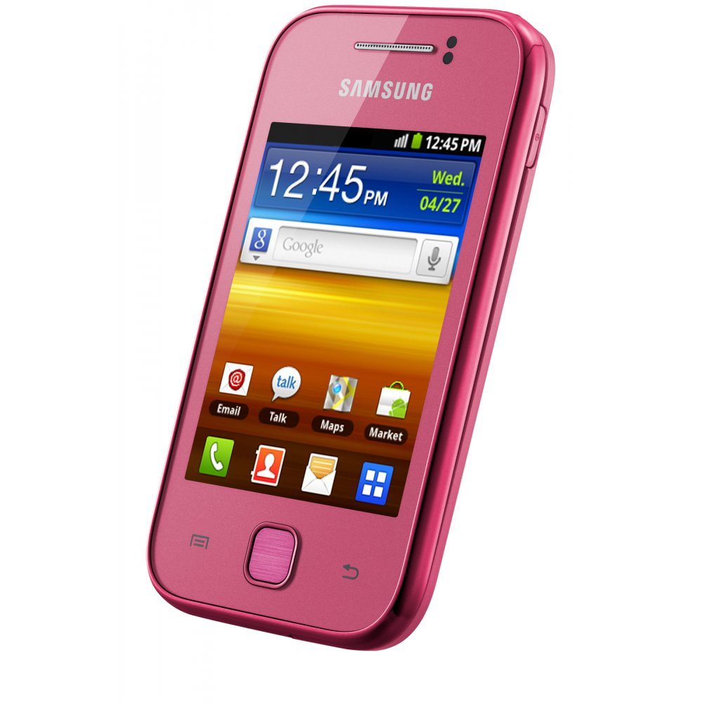samsung samsung galaxy y gt s5360 sim free smartphone pink. Black Bedroom Furniture Sets. Home Design Ideas