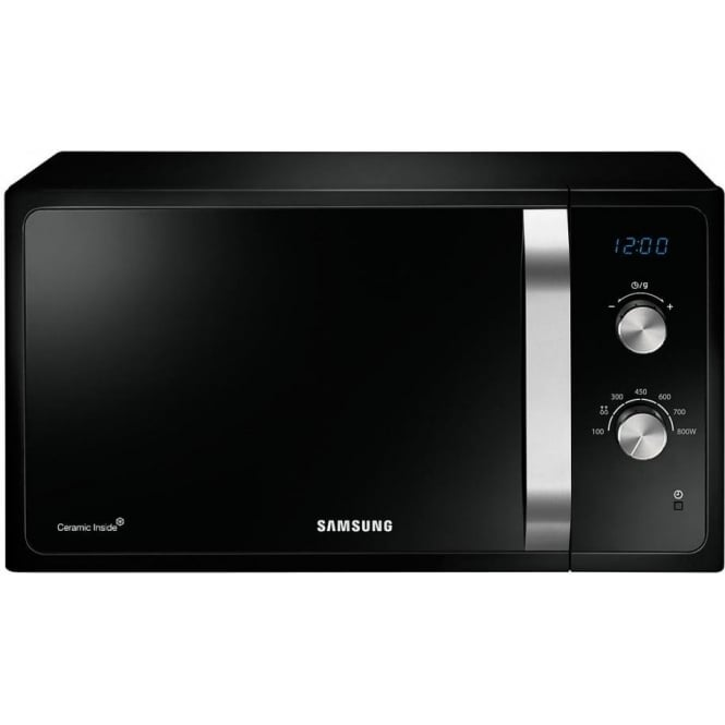 Samsung MS23F301EAK Solo Microwave Oven, Black