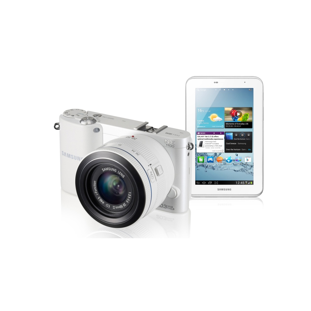 samsung nx1100tab2w smart camera white amp 7quot tablet