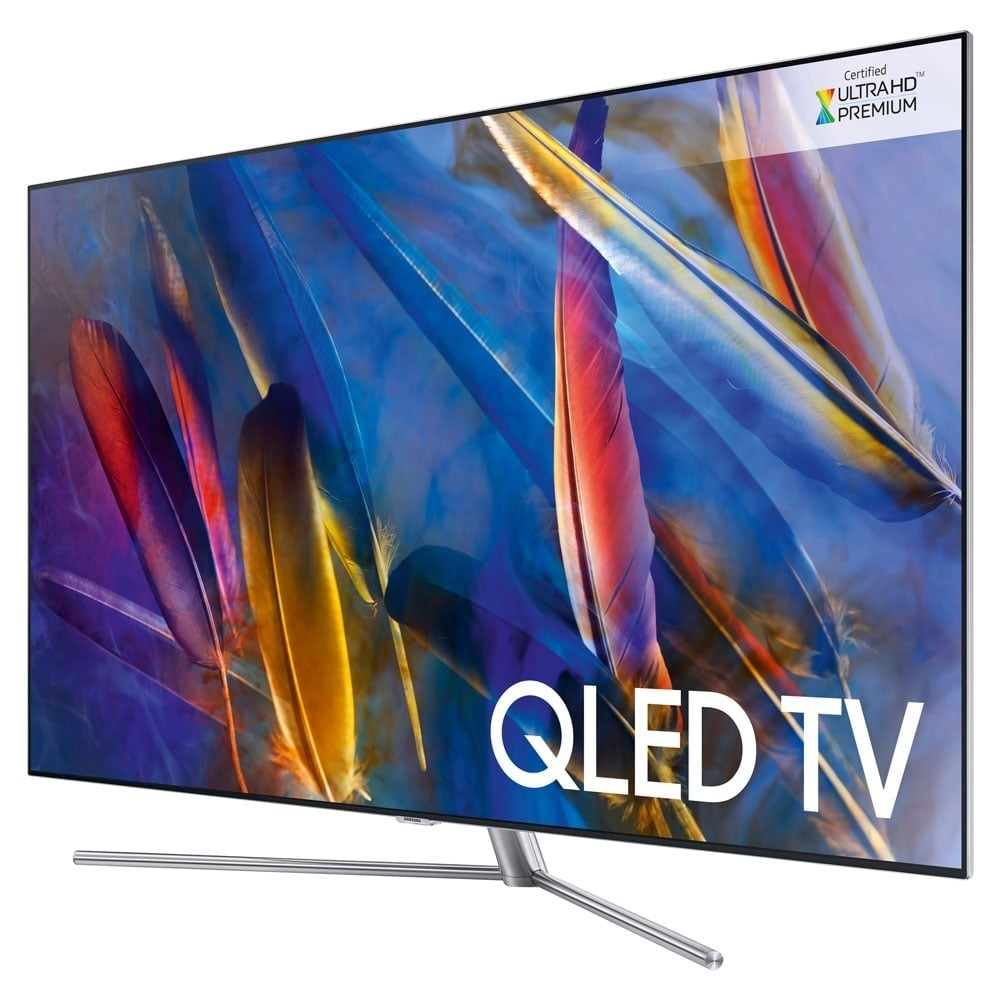 samsung qe55q7f 55 smart 4k ultra hd qled flat screen tv. Black Bedroom Furniture Sets. Home Design Ideas