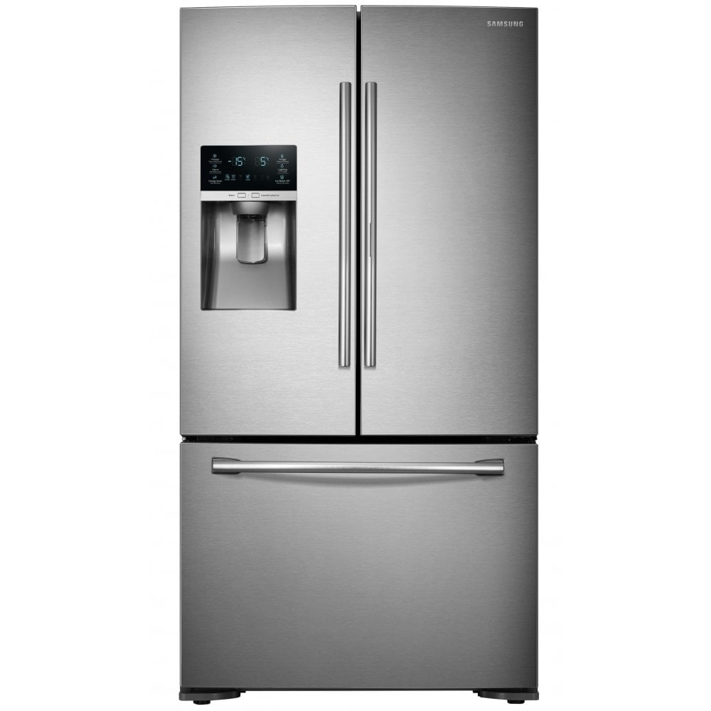 Samsung RF23HTEDBSR Frost Free, A+ Energy Rating American Style Fridge  Freezer with Plumbed Water & Ice Dispenser, Stainless Steel