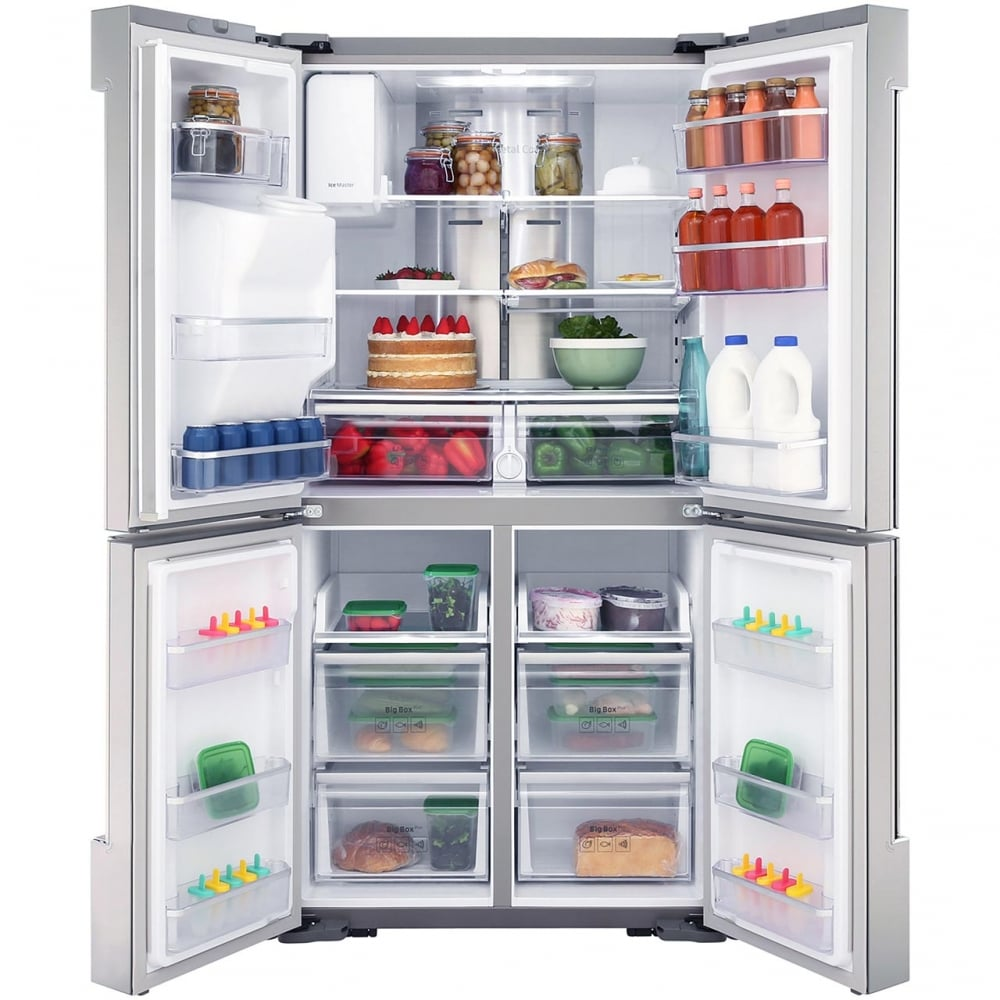 RF56M9540SR Family Hub™ Frost Free, A+ Energy Rating, American Style Fridge  Freezer with Plumbed Water & Ice Dispenser, Stainless Steel