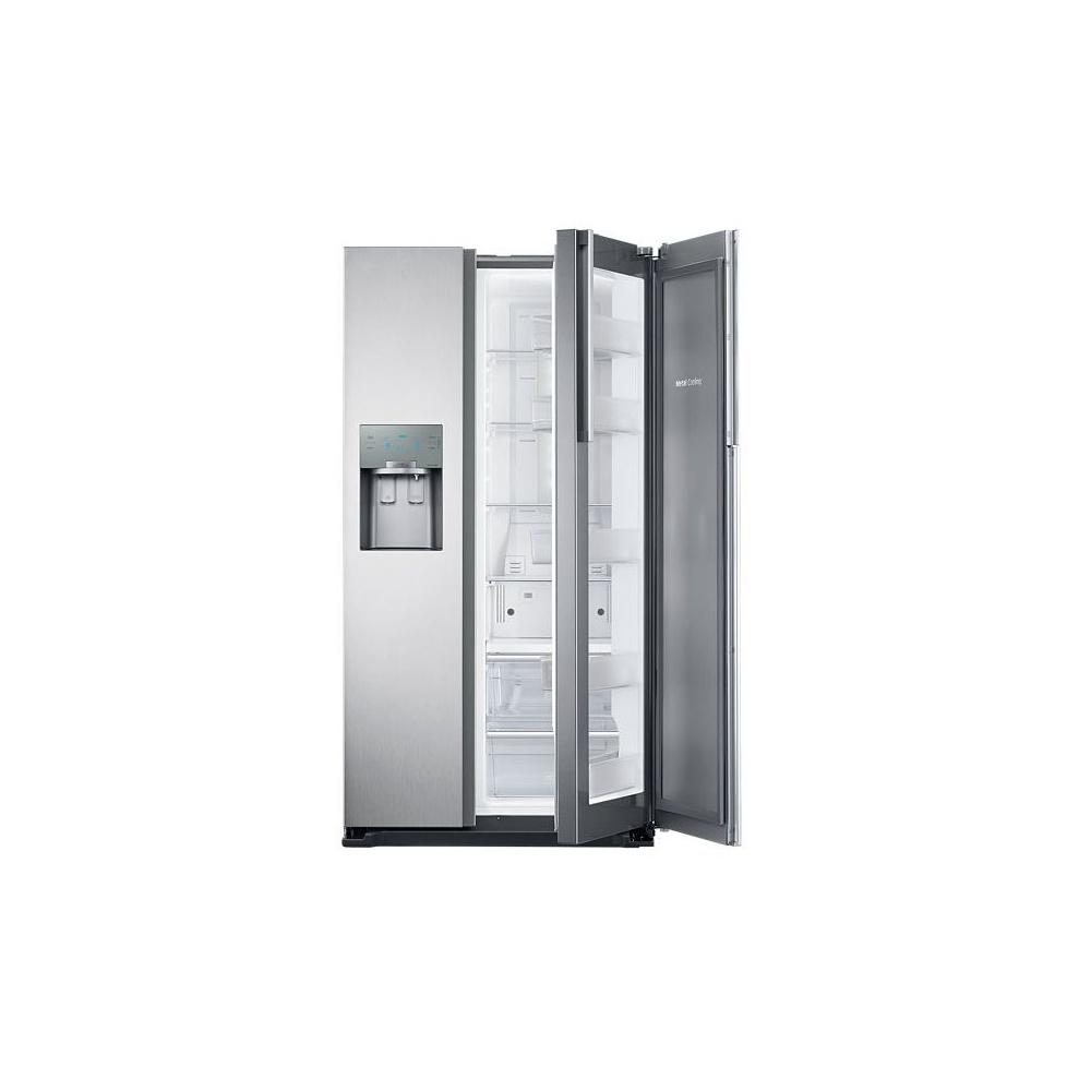 American Fridge Freezer Plumbed: Samsung RH56J6917SL A+ American Style 'Showcase' Fridge