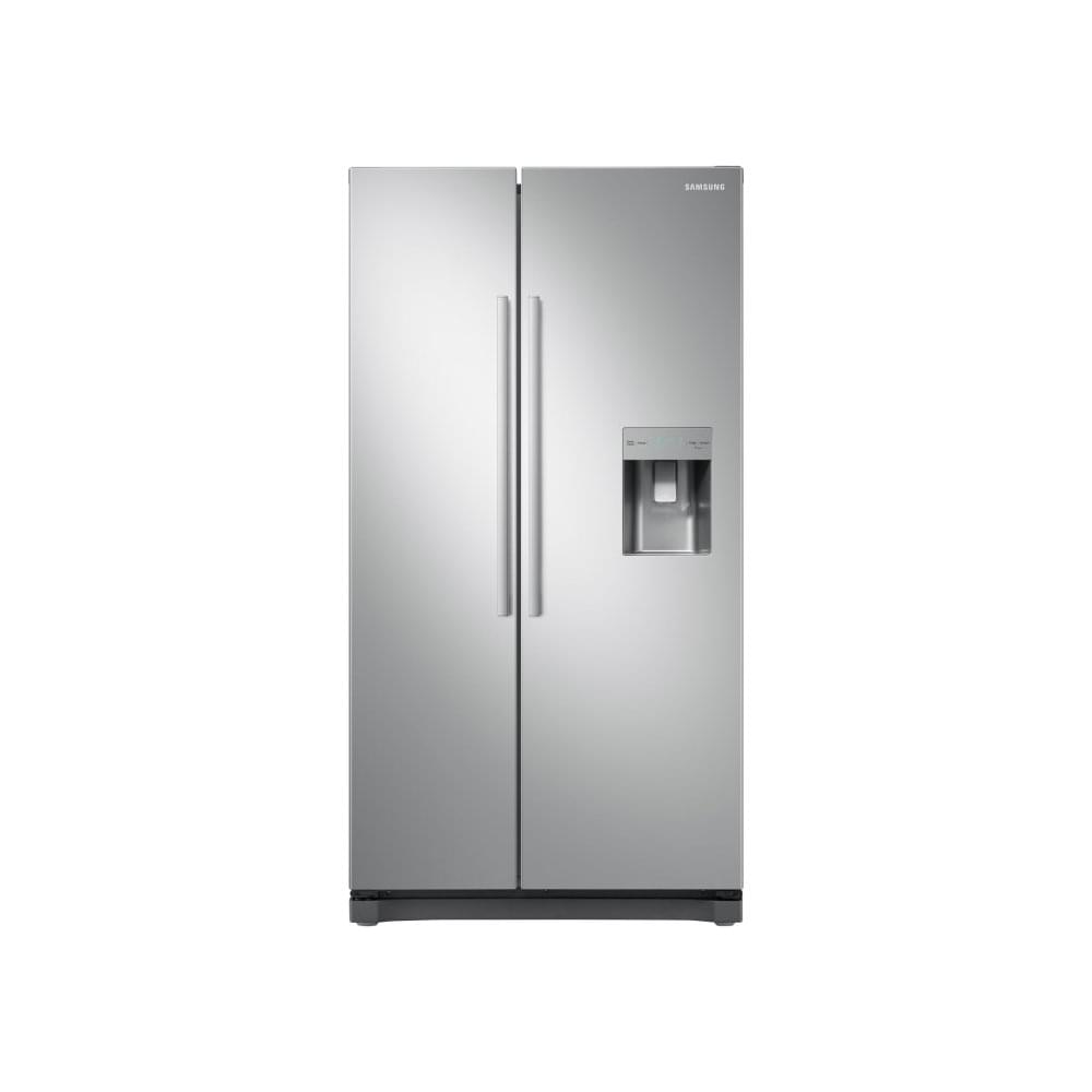 RS52N3313SA A+ Energy Rating American Style Fridge Freezer, Silver