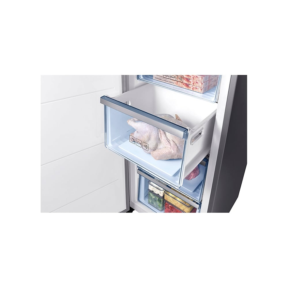 RZ32M71207F Frost Free, A+ Energy Rating Upright Freezer, Stainless Steel