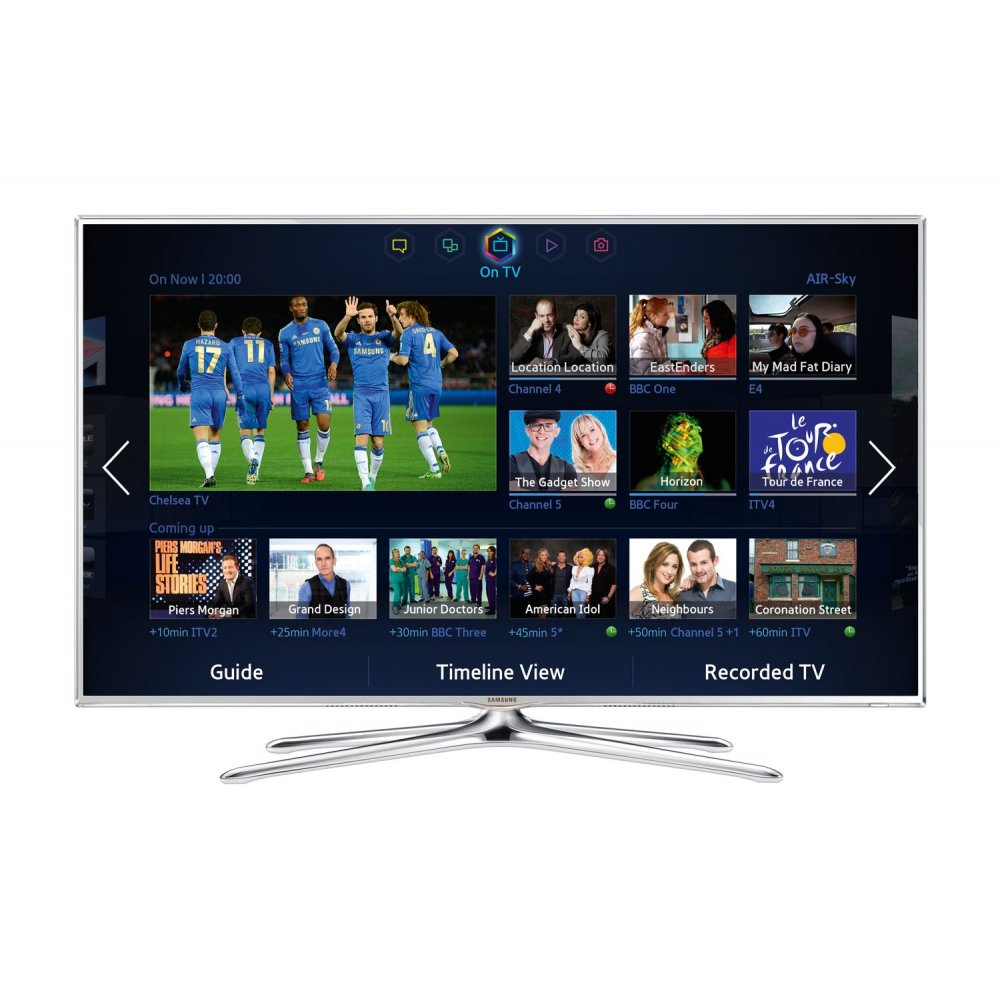samsung 40 inch 3d smart tv ue40es6710 full hd 1080p widescreen with built in wi fi. Black Bedroom Furniture Sets. Home Design Ideas