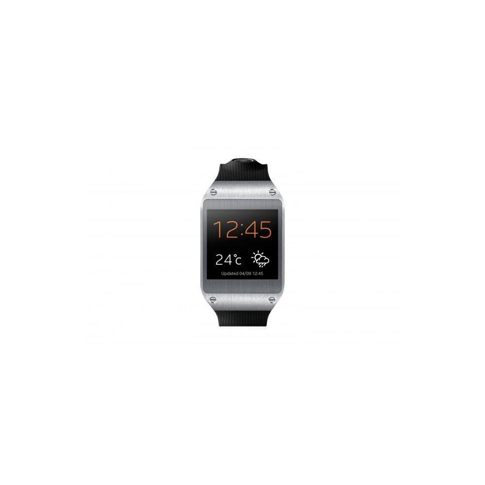 samsung sm v7000 galaxy gear smart watch black. Black Bedroom Furniture Sets. Home Design Ideas