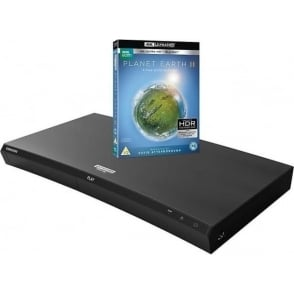 UBD-M9000 Curved Smart Bluetooth 4K UHD Blu-Ray/DVD Player