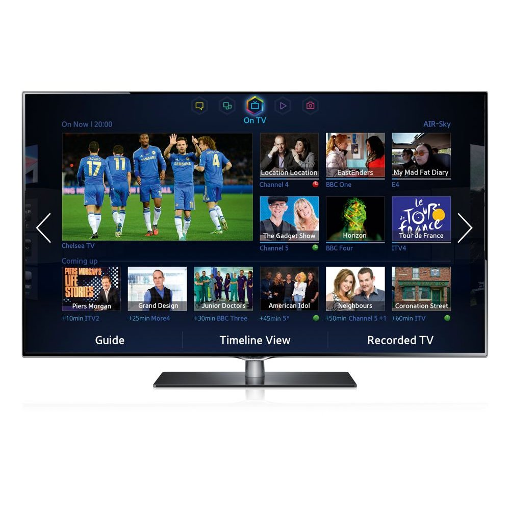 Samsung Smart Led Tv : Samsung UE40F6740SB 40