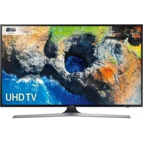 "UE50MU6120 50"" Smart 4K Ultra HD with HDR TV, Black"