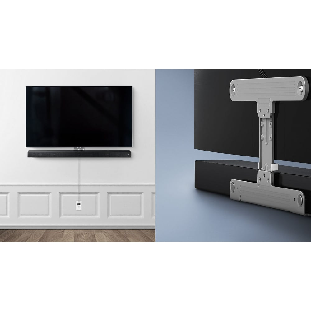 Wmn300sb Wall Mount Kit For Soundbar Compatible With Ms5 Silver