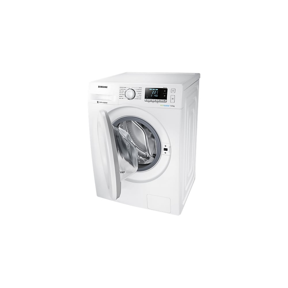 samsung ww90j5456mw 9kg 14000rpm a ecobubble freestanding washing machine white samsung. Black Bedroom Furniture Sets. Home Design Ideas