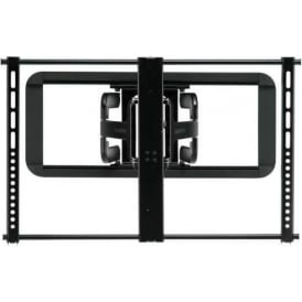 "VLF320 Full Motion Super Slim TV Wall Mount 51""-70"", Black"