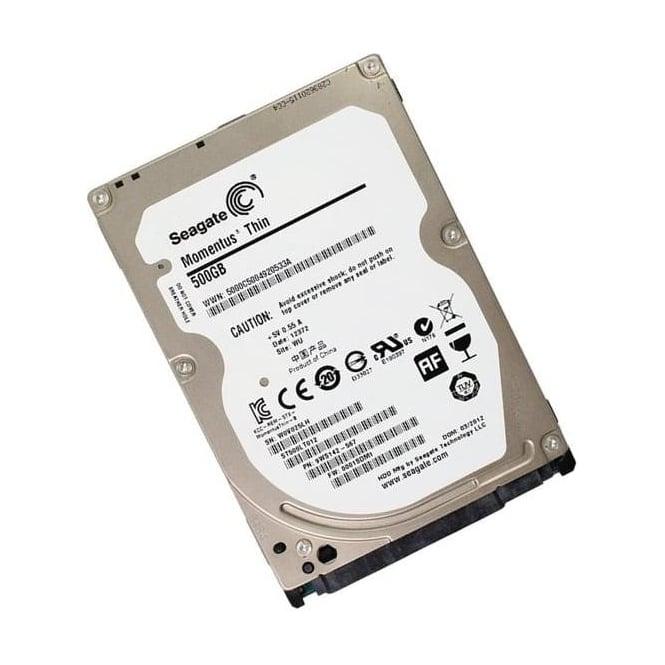 """Seagate Momentus Thin ST500LT012 500GB SATA/600 5400RPM 16MB 2.5"""" Hard Drive"""