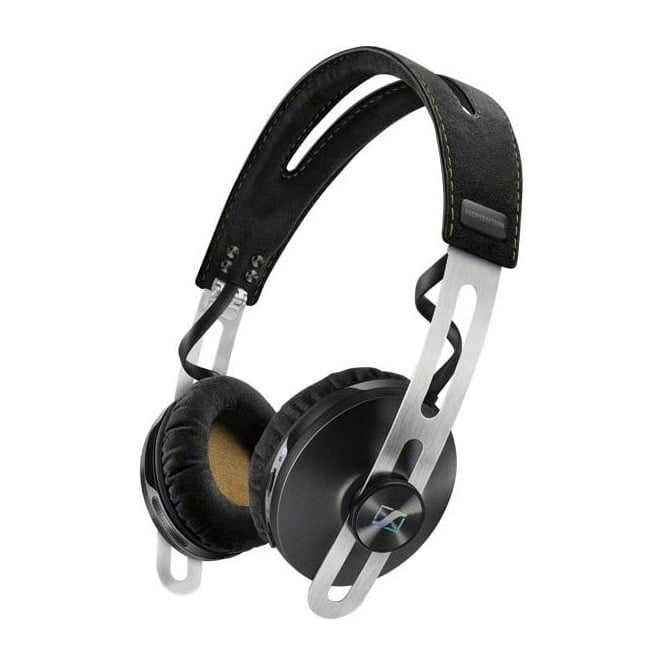 Sennheiser 50625 Momentum On-Ear Wireless Headphones with Integrated Microphone, Black