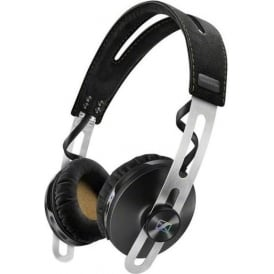 50625 Momentum On-Ear Wireless Headphones with Integrated Microphone, Black
