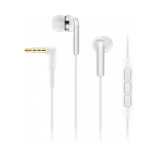 Sennheiser CX2.00 In-Ear Headphones With Integrated Smart Remote & Microphone, White
