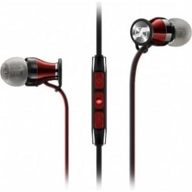 M2IEi Momentum In Ear Headphones for iPhone/iPod/iPad, Shiraz Red