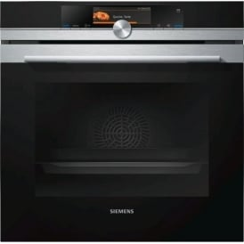 HS658GES6B iQ700 Single Oven with FullSteam, Stainless Steel