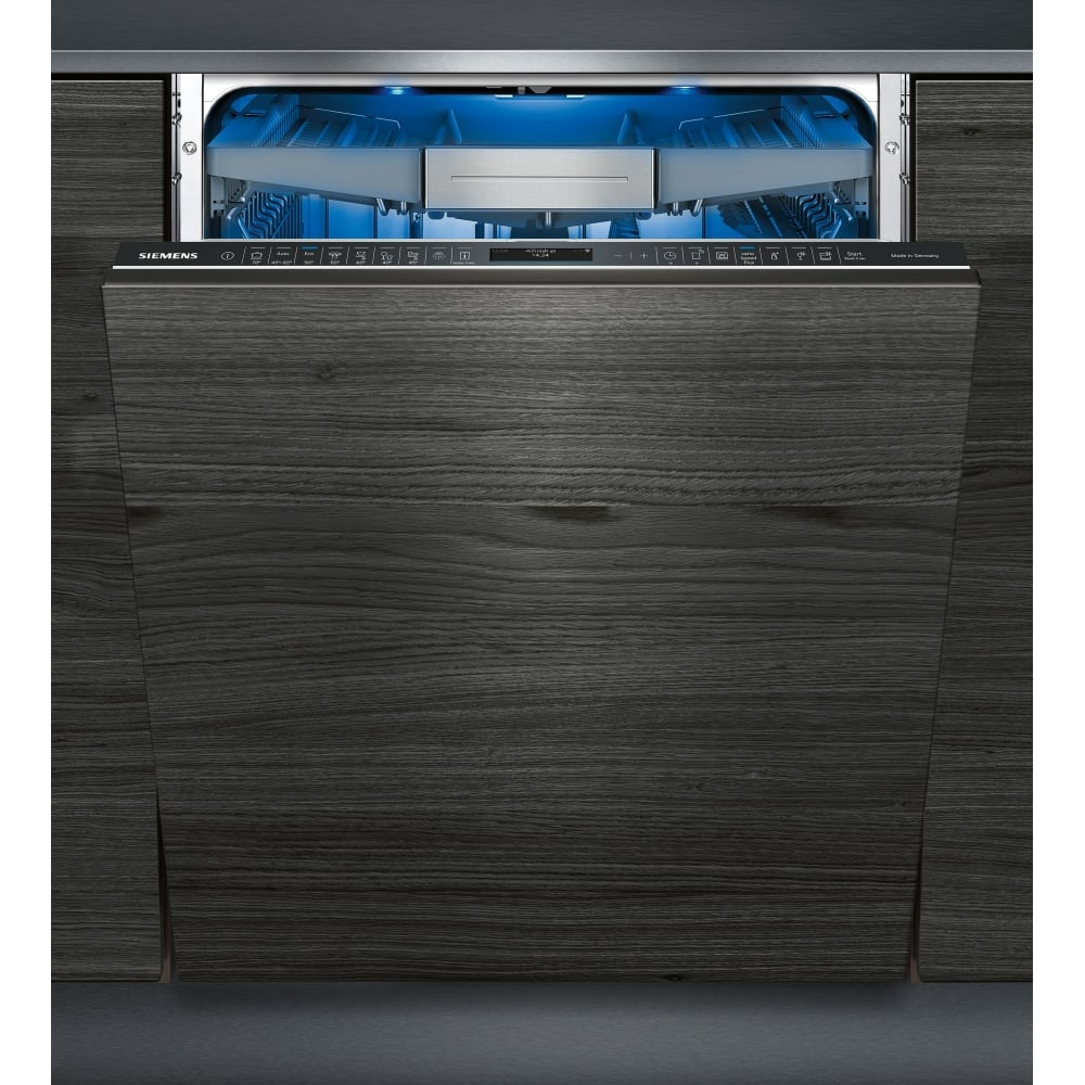siemens iq700 home connect wifi fully integrated dishwasher with