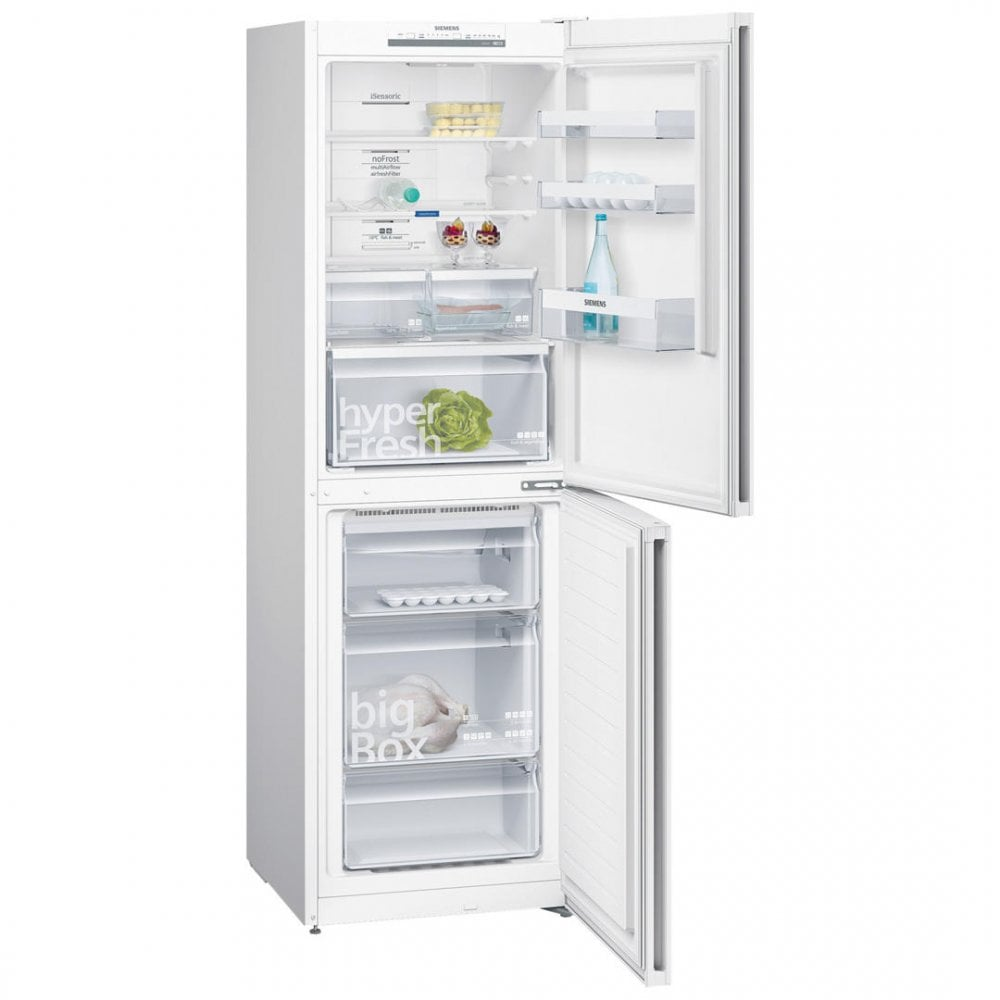 KG34NVW35G NoFrost, HyperFresh, A++ Energy Rating Fridge Freezer, White