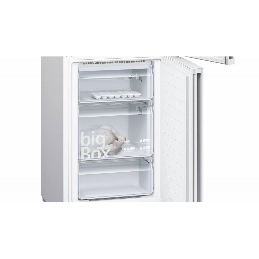 KG34NVW35G NoFrost, HyperFresh, A++ Energy Rating Fridge Freezer, White