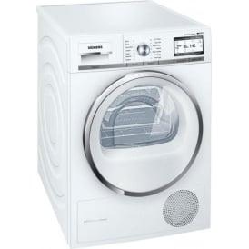 WT4HY790GB iQ700 iSensoric 9kg, A++ Heat Pump Tumble Dryer, White