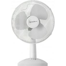 S115N Desk Fan, 9 inch, 30W, White