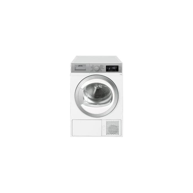 Smeg DHT81LUK 8kg, A+ Freestanding Condenser Dryer, White