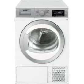 DHT81LUK 8kg, A+ Freestanding Condenser Dryer, White