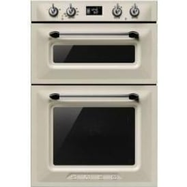 DOSF6920P Victoria Aesthetic Double Oven, Cream