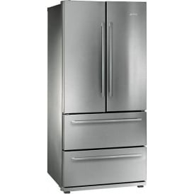 FQ55FX1 4-Door American Style Fridge Freezer, A+ Energy Rating, 84cm Wide, Stainless Steel