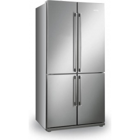 FQ60XP A+ American Style Fridge Freezer, Stainless Steel