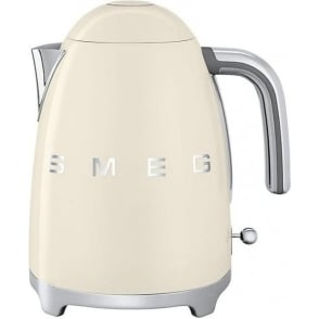 KLF11CRUK 50's Retro Style Aesthetic Kettle, Cream