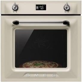 SFP6925PPZ Victoria Single Oven, Cream