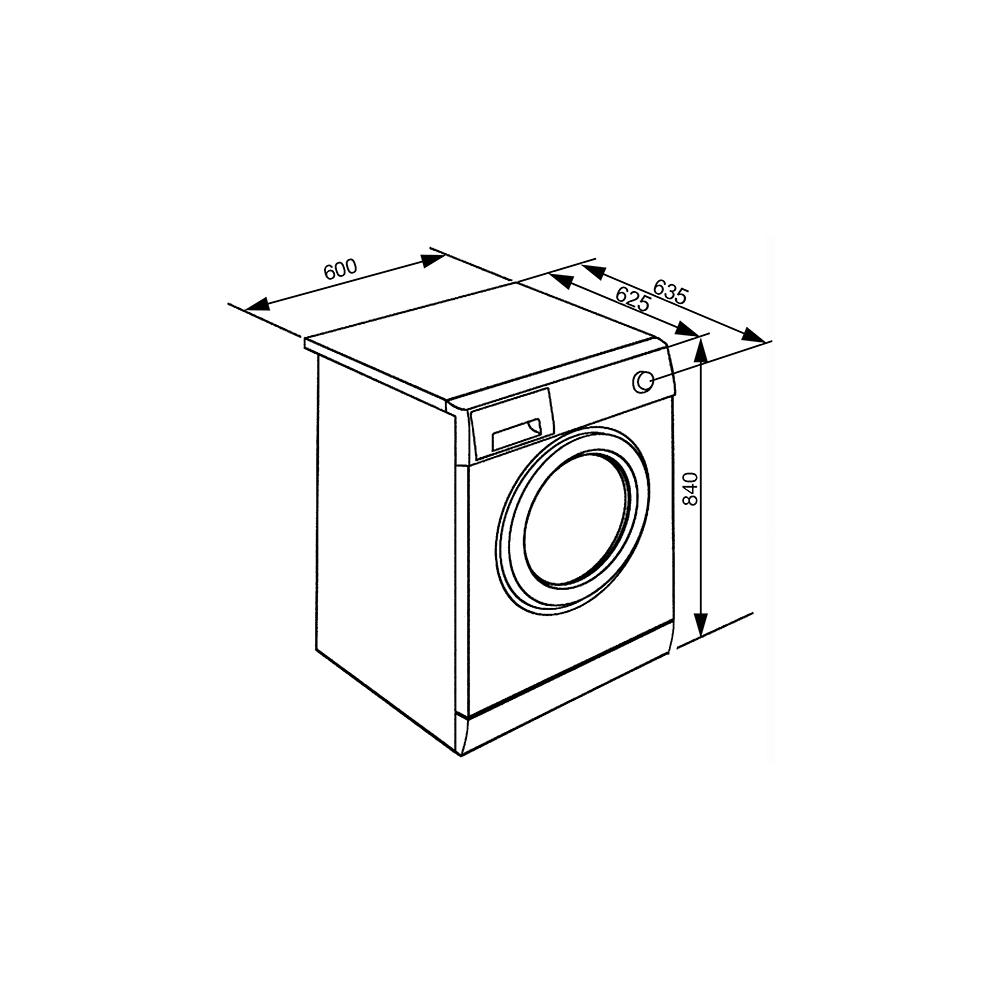 smeg wht1114lsuk 11kg  1400rpm  a    freestanding washing