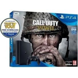 500GB Call of Duty: WWII Bundle