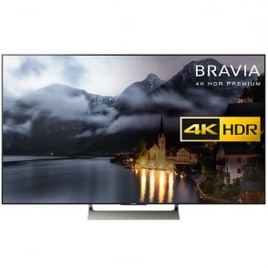 "Bravia KD49XE9005 LED HDR 4K Ultra HD Smart Android 49 "" TV with Freeview HD & Youview, Black"