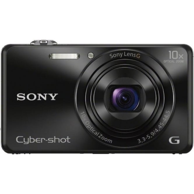 Sony DSCWX220 Digital Camera with Wi-Fi and 10x Optical Zoom