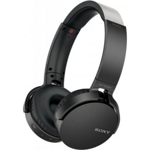 EXTRA BASS XB650BT Wireless Over Ear Headphones, Black
