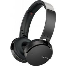 EXTRA BASS XB650BT Wireless Over Ear Headphones, Black