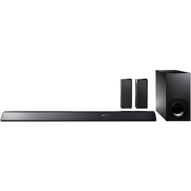 Sony HT-RT5 Soundbar with 2 Wireless Rear Speakers (550W, S-Master HX, Clear Audio Plus, Dolby TrueHD, DTS-HD, Bluetooth, Wi-Fi and NFC)