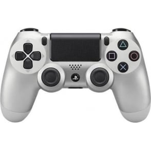 New DualShock 4 Controller PS4 V2 Silver