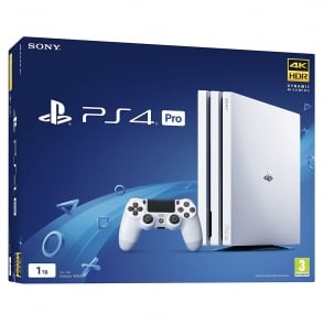 PlayStation 4 Pro 1TB, White