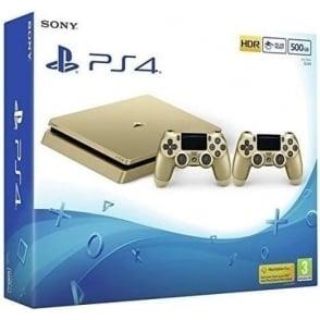 PlayStation 4 Slim 500GB, Gold Limited Edition